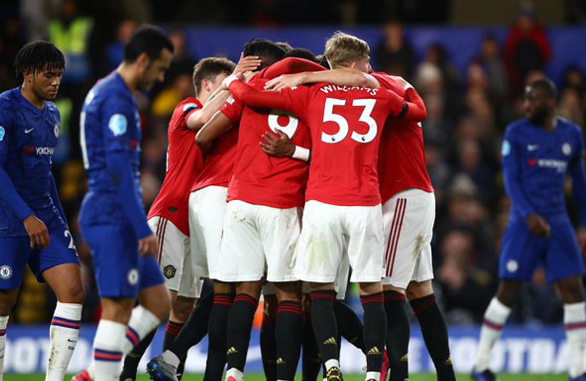 Ako Manchester United zdolal Chelsea na Stamford Bridge (VIDEO)
