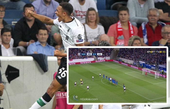4e2b76444e 18-ročný talent Liverpoolu Alexander-Arnold strelil pri svojom debute v  Lige Majstrov parádny