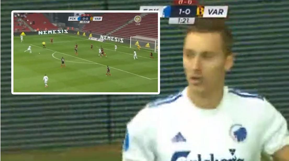 4fd223b6a5 Slovenský reprezentant Ján Greguš a jeho fantastický a hlavne dôležitý gól  za FC Kodaň v Lige