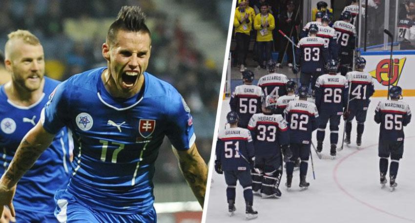 acb9d871ef6f0 Slovenská futbalová reprezentácia už pomaly dobieha tú hokejovú. V novom  rebríčku sme 12. najlepší tím v ...