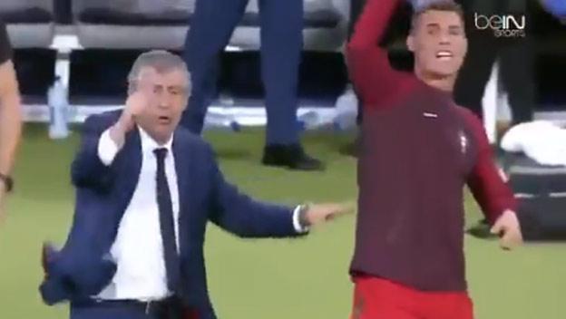 aa0a334c78e0a Už vieme, čo bude robiť Ronaldo po kariére. Na lavičke Portugalska sa z neho