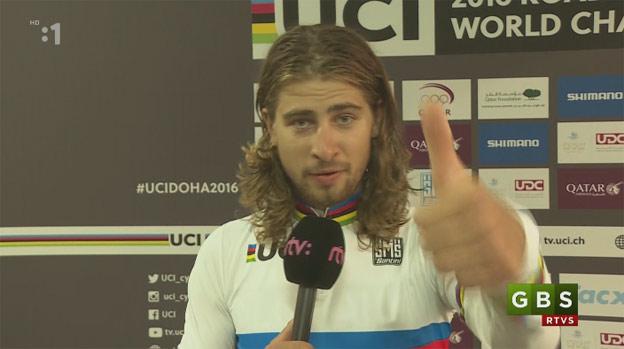 3a304b252569c Peter Sagan má odkaz pre fanúšikov zo Slovenska, ktorí mu fandili! (VIDEO)