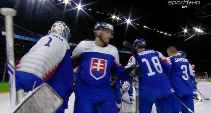 ac2922998c2dc Slovensko po veľkej dráme zdolalo Francúzsko (VIDEO). MS v Hokeji 2018 ...