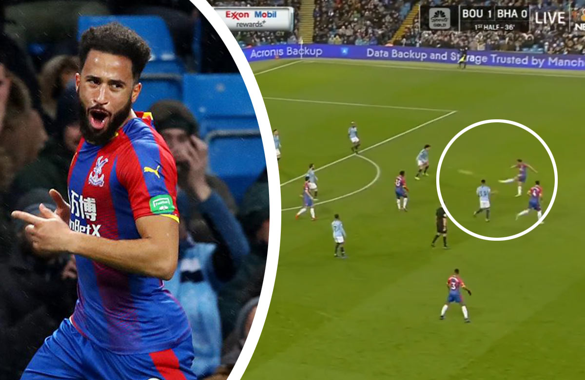 Gól roka v Premier League? Townsend z Crystal Palace to proti City napálil z voleja z 25 metrov! (VIDEO)
